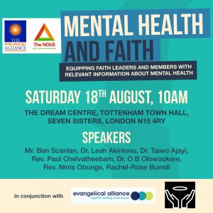 Mental Health and Faith