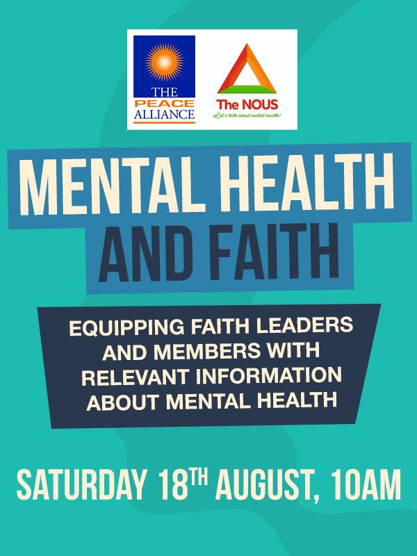 Mental Health and Faith